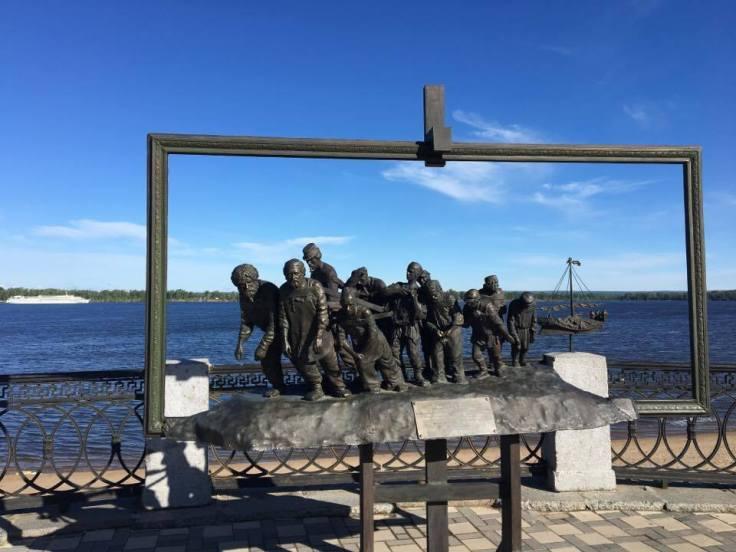 Burlaks on the Volga